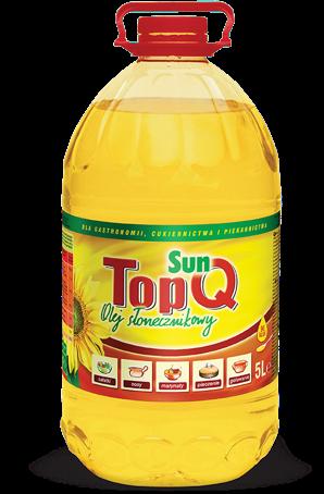 TOP Q | rafinowany olej słonecznikowy