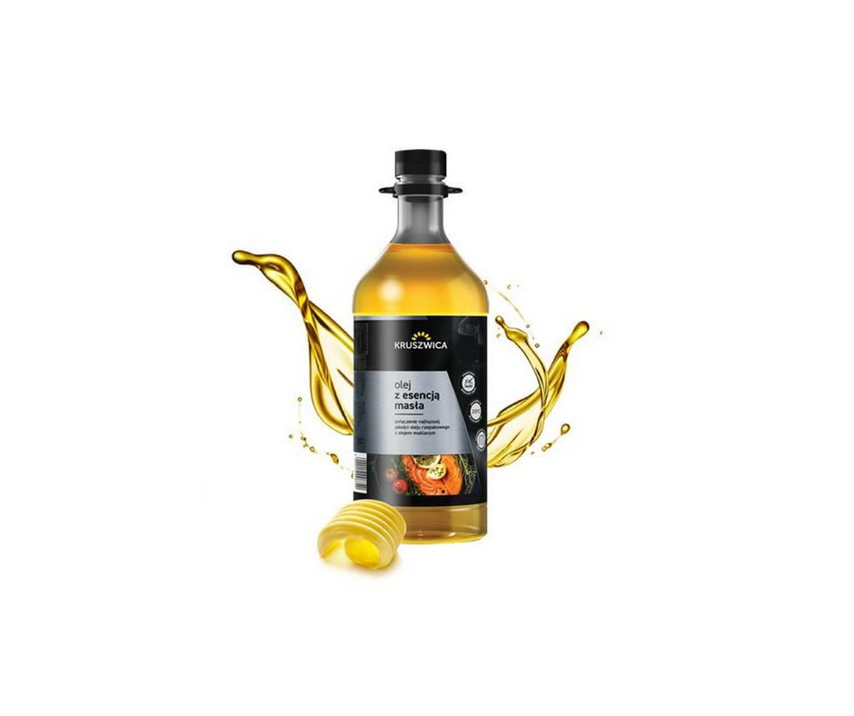 Odbierz darmową próbkę Oleju z Esencją Masła!