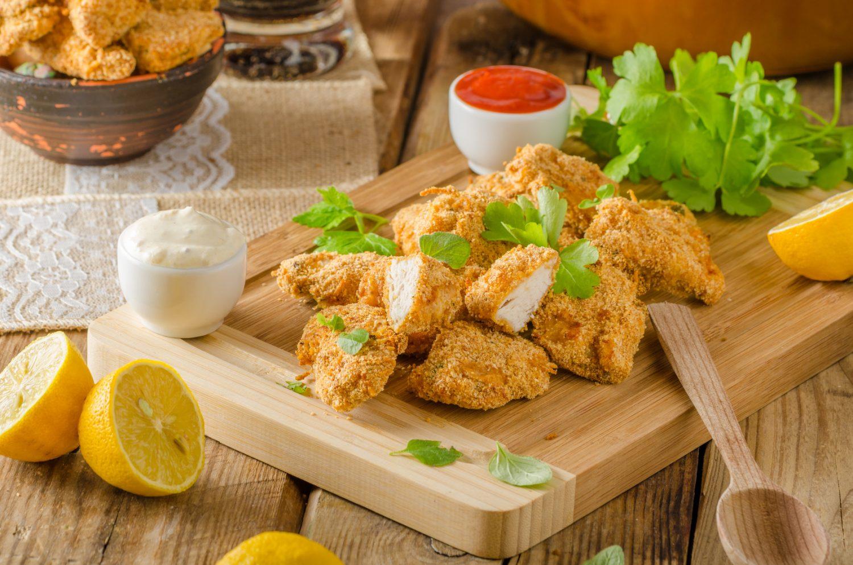 Łupki Chrupki – przepis na kurczaka w panierce z płatków kukurydzianych