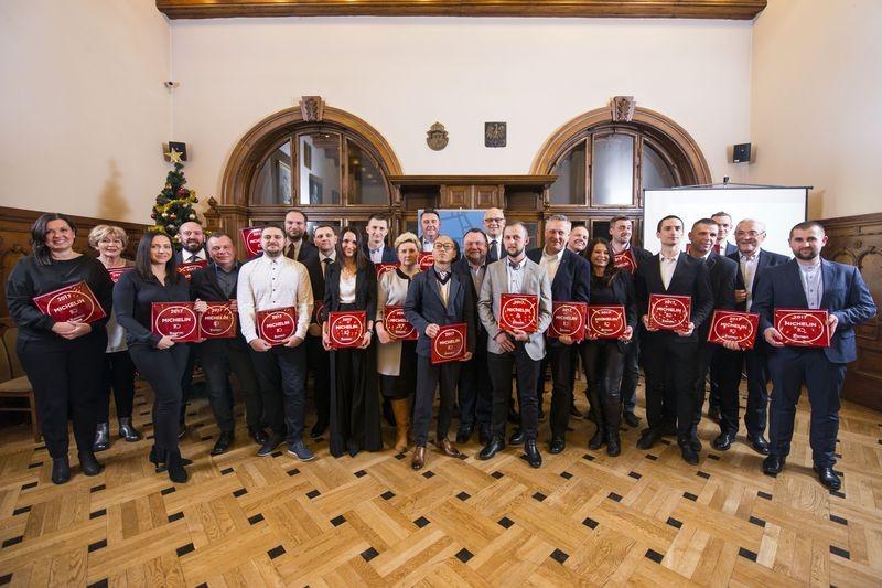 Relacja z wręczenia Plakiet Przewodnika Michelin 2017 Main Cities of Europe