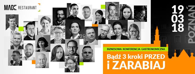 Made Restaurant 19 marca w Poznaniu. Bądź tam koniecznie!