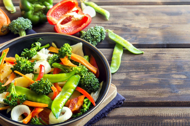 Jak smażyć warzywa na patelnię?
