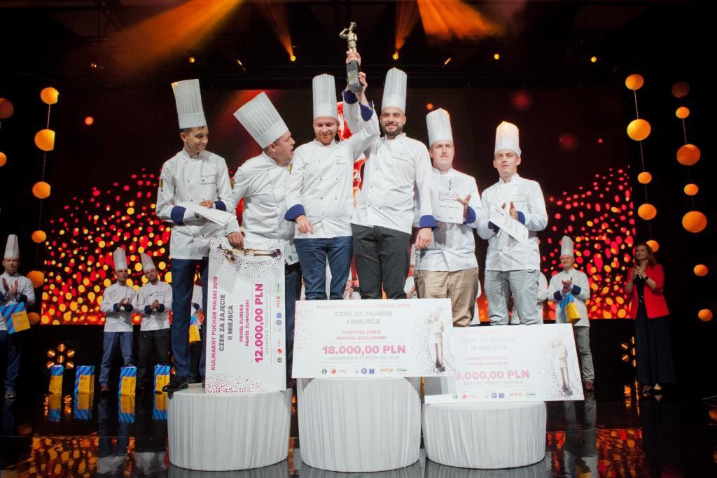 Bartosz Fabiś i Michał Kozłowski laureatami Kulinarnego Pucharu Polski 2019