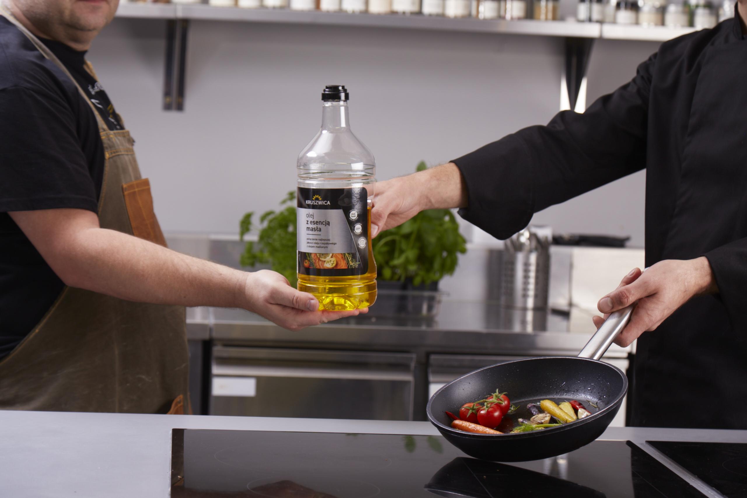 Olej z Esencją Masła w nowym, 2-litrowym opakowaniu!