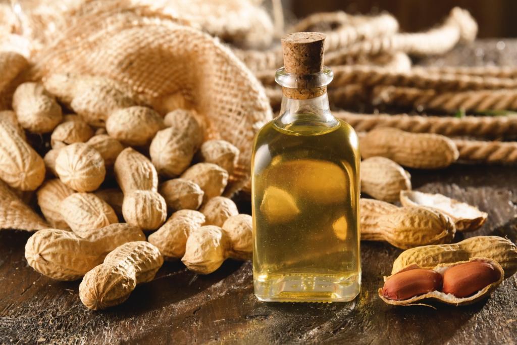 Olej arachidowy do smażenia – właściwości, zastosowanie