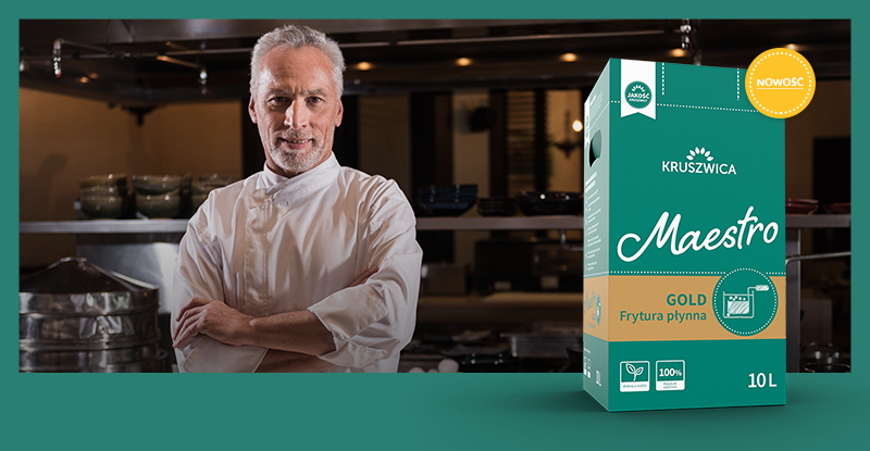 Nowa frytura Maestro Gold – dla tych, którzy w kuchni nie uznają kompromisów