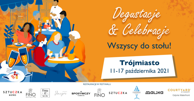 """Zapraszamy na Festiwal Celebracje & Degustacje """"Wszyscy do stołu!"""""""